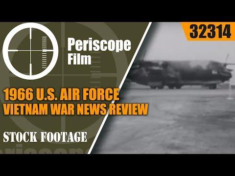 1966 U.S. AIR FORCE VIETNAM WAR NEWS REVIEW  OPERATION ATTLEBORO 32314