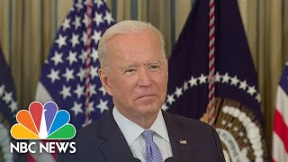 Biden Under Pressure As House Prepares To Vote On Infrastructure Bill