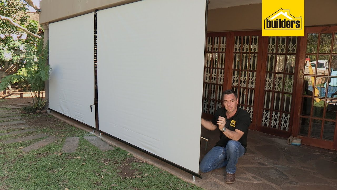 How To Install Vertical Patio Blinds Youtube