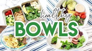 ???? HEALTHY BOWLS MEAL PREP! ???? EASY RECIPES FOR LUNCH OR DINNER ???? LOW CARB + KETO MEAL PREP