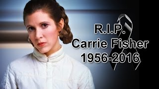 Murió la princesa Leia (CARRIE FISHER) Diciembre 27 2016