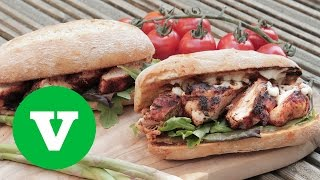 Cajun Chicken Burger | Barry's Bbq S1e6/8