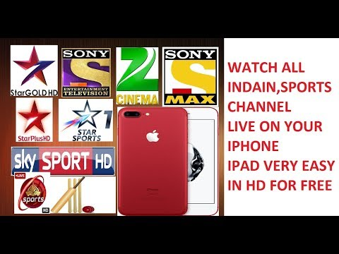 WATCH LIVE SPORTS AND INDIAN CHANNEL ON ANY IPHONE DEVICE 100% FREE AND WORKING