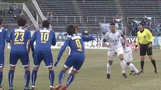 2018年3月21日(水)に行われた明治安田生命J2リーグ 第5節 山形vs横...