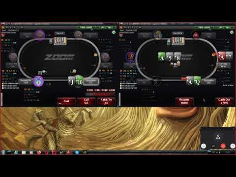 (19) Техасский холдем - покер онлайн на покерстарс, Zoom NL 5.
