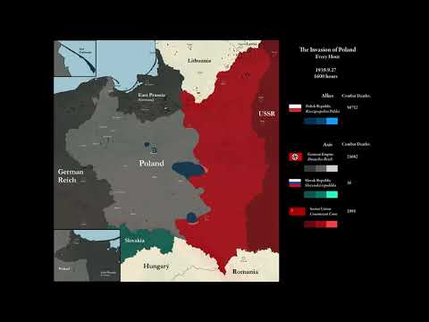 The Invasion of Poland (1939): Every Hour