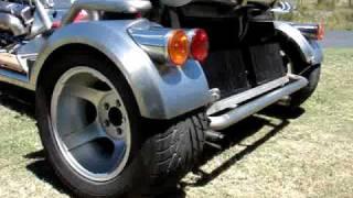 Custom Built Chevy SB V8 Twin Turbo Trike.