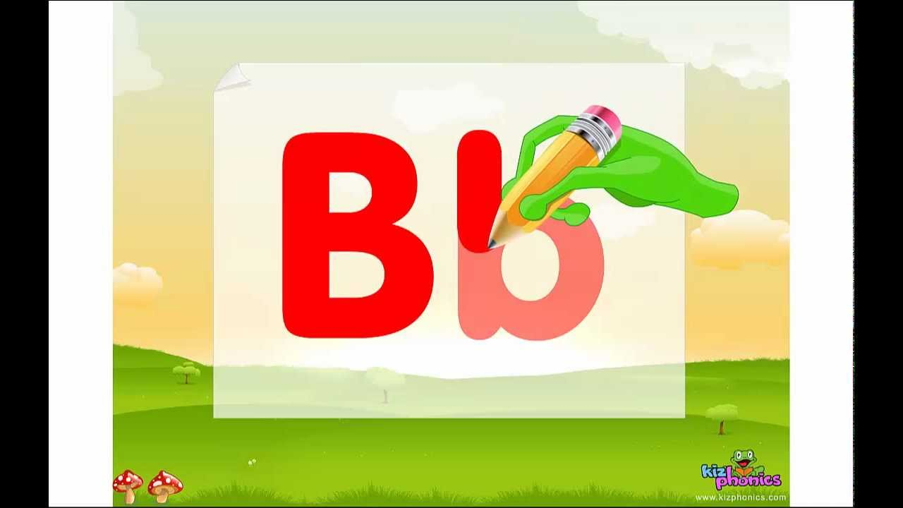 Letter B song Learn Letter and Sound of Bb
