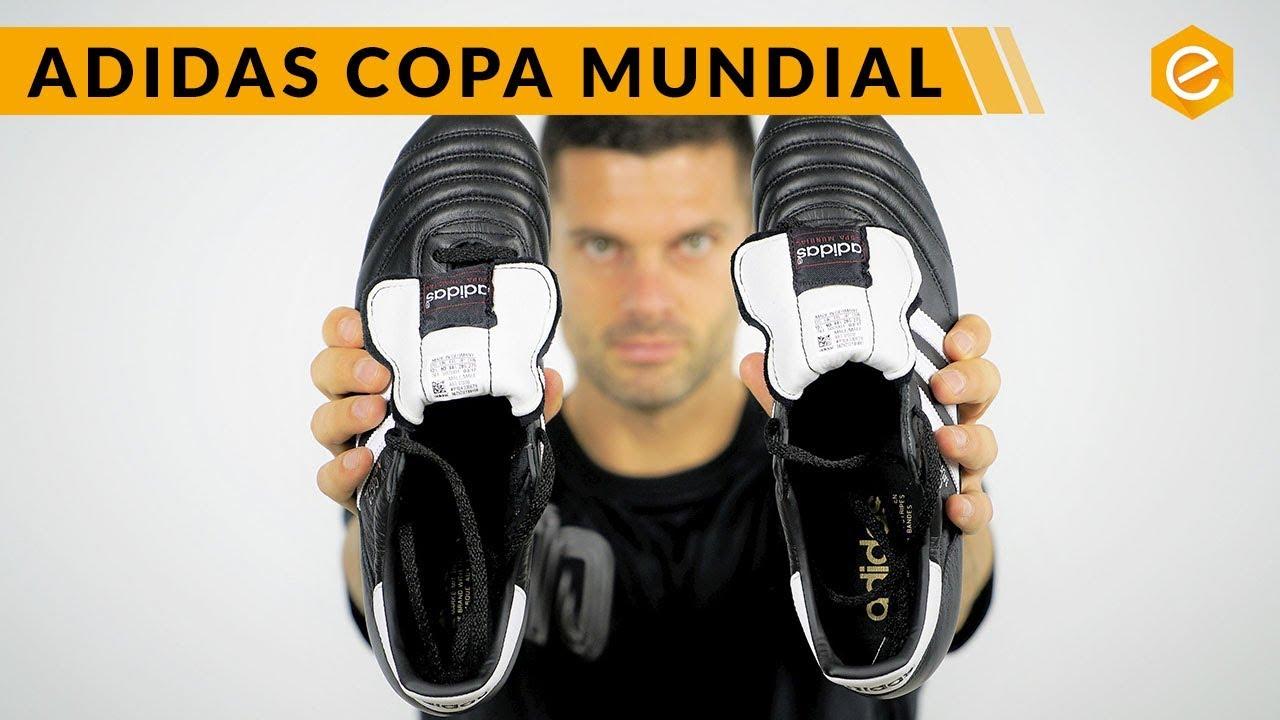 Iluminar Garantizar Consistente  Bota de fútbol adidas Copa Mundial Black-White - Tienda de fútbol Fútbol  Emotion