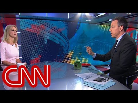 Tapper to Conway: Id like Trump to stop lying