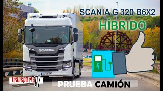 Contacto Scania G320 B6X2  Híbrido