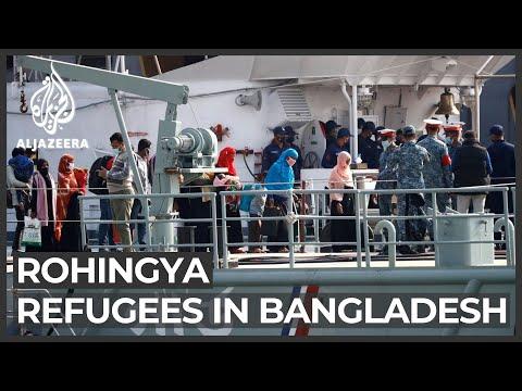 Bangladesh ships Rohingya to remote island despite outcry