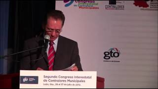 Inauguran Segundo Congreso Interestatal de Contralores Municipales