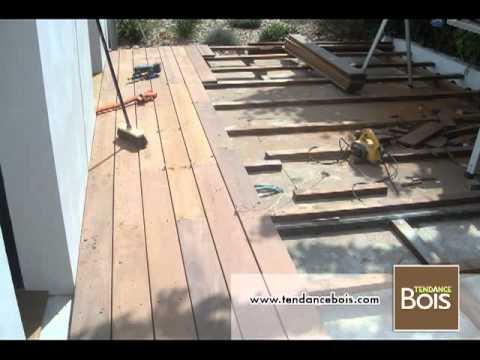 Pose De Terrasse Sur Lambourdes Youtube