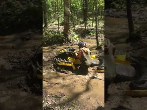 canam outlander xmr 650 with looney