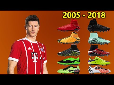 Robert Lewandowski - New Soccer Cleats & All Football Boots 2005-2018