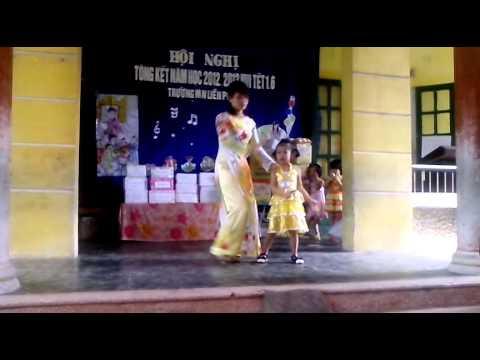 MẦM NON LIÊN PHƯƠNG - khúc hát ru người mẹ trẻ (Cô Đào cùng học trò)