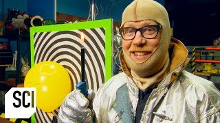 Can a Laser Ignite Adam Savage's Farts? | MythBusters Jr.