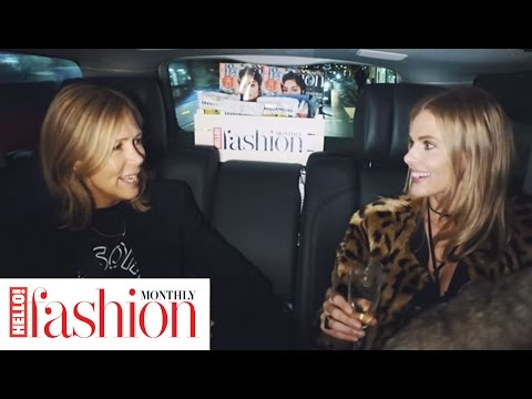 Presenter, model & stylist Donna Air talks fashion designers & outfit disasters in hfmfashionspin