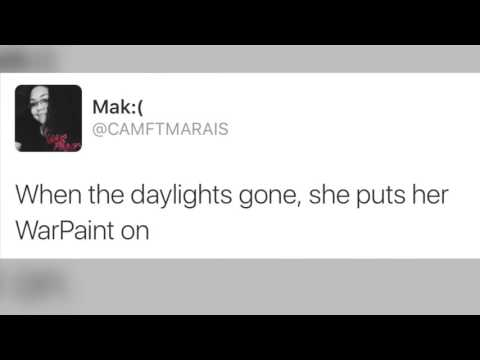 Jonah Marais - War Paint Lyric Video
