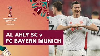 Al Ahly v Bayern Munich | FIFA Club World Cup Qatar 2020 | Match Highlights