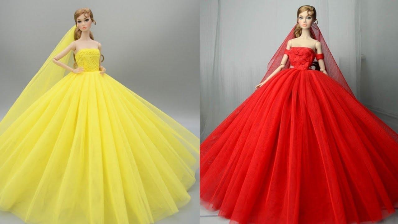 Barbie Doll Makeover Transformation ~ DIY ART Omoji ~ Wig, Dress, Faceup, and More!