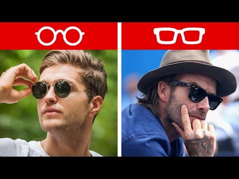 Как выбрать мужские солнцезащитные очки? Очки по форме лица.