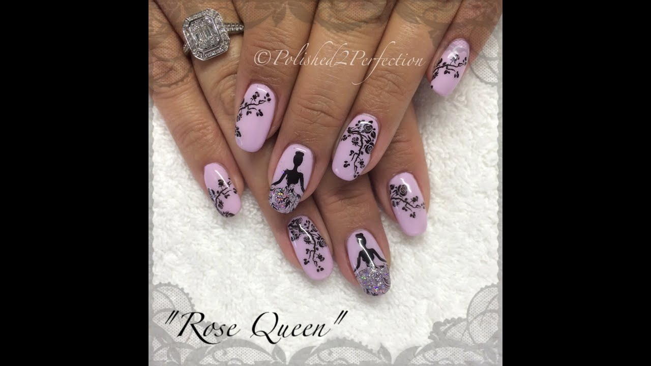 Rose queen theme nail art stamping tutorial born pretty store bp rose queen theme nail art stamping tutorial born pretty store bp 25 prinsesfo Images
