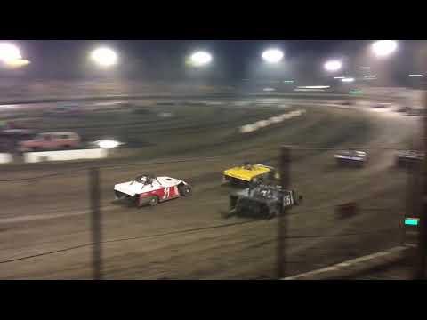 Bakersfield Speedway 08-25-18 Modified B-Main