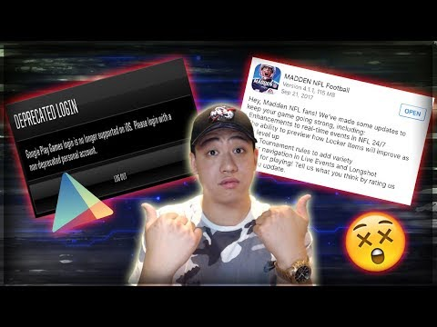Google Play Account Link Info! Run Down Of New Update!! Madden Mobile 18