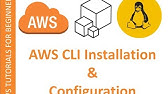 Install AWS CLI On linux Tutorial - YouTube
