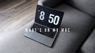 What's On My MacBook Pro - Coding, Creativity & Productivity