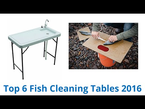 6 Best Fish Cleaning Tables 2016