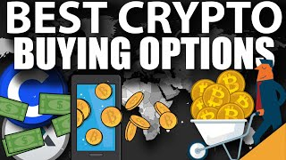 Where To Buy Cryptocurrency (BEST Options)
