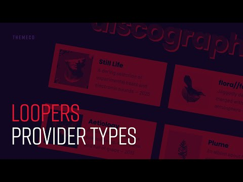Loopers: Provider Types