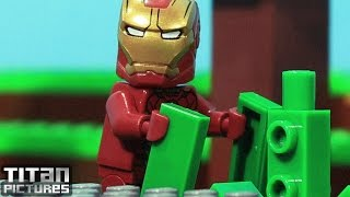 Lego Iron Man Mash Up Minecraft