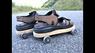 How to Make a Simple Roller Skates at Home . |DIY .