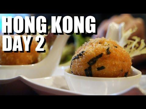Hong Kong Food Travel - Day 2 - Modern Dim Sum, Steamed Milk, Street Intestines