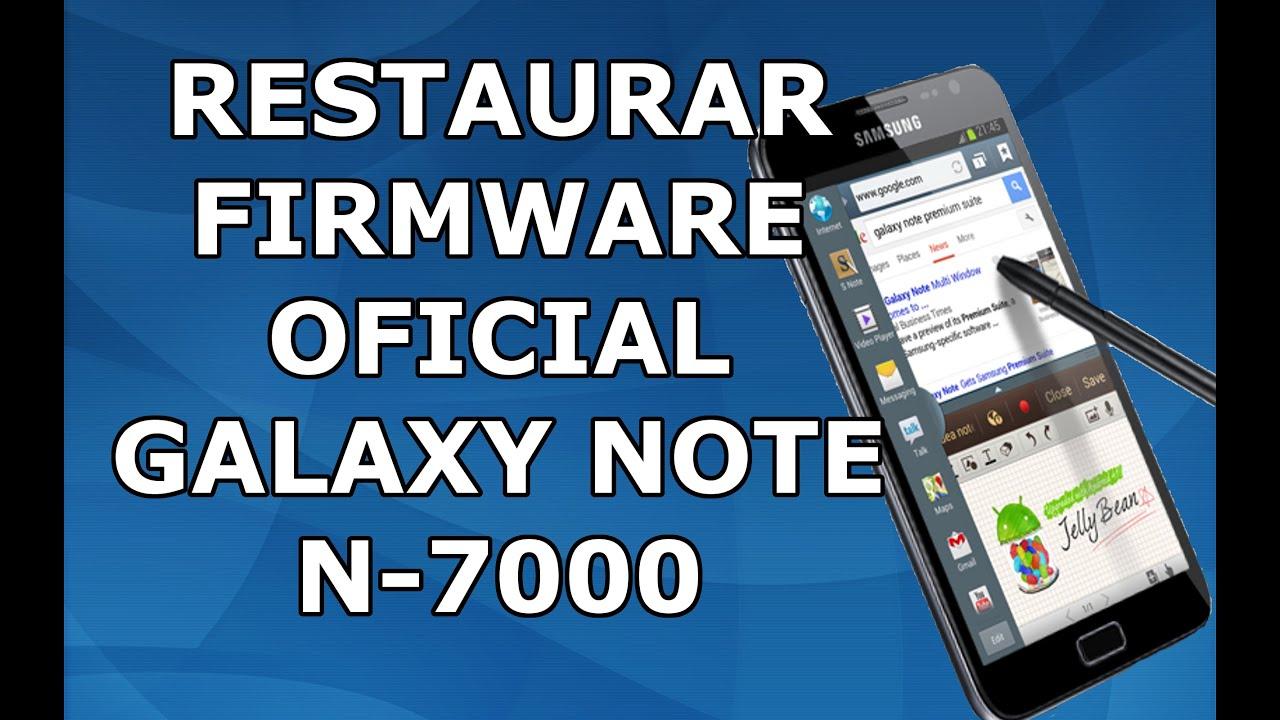 Instalar android 4 1 2 oficial en Galaxy Note N7000 [UNBRICK]
