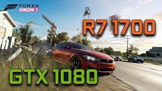 Forza Horizon 3 Demo   GTX 1080 G1 Gaming + Ryzen 7 1700   1080p Max Settings  