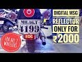 MooDy, The Rider's Status | Digital Msg Reflector For All 2 Wheelers |
