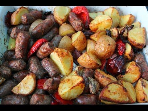 Sausage And Potato Bake Recipe - Easy Dinner Idea