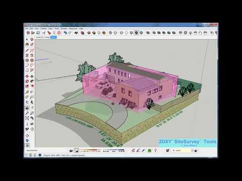 2DXY SiteSurvey tools | SketchUp Extension Warehouse