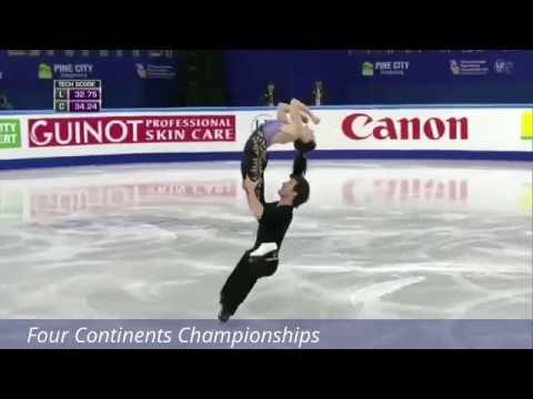 Ice Dance, Best Lifts of main competitions 2017