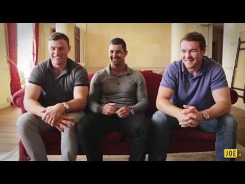 Ireland's Rugby World Cup Stars take on The Gun Show