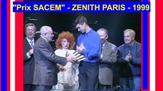 """Remise du Grand prix SACEM """"La marche du Festival"""" FR3 Picardie (1999)"""