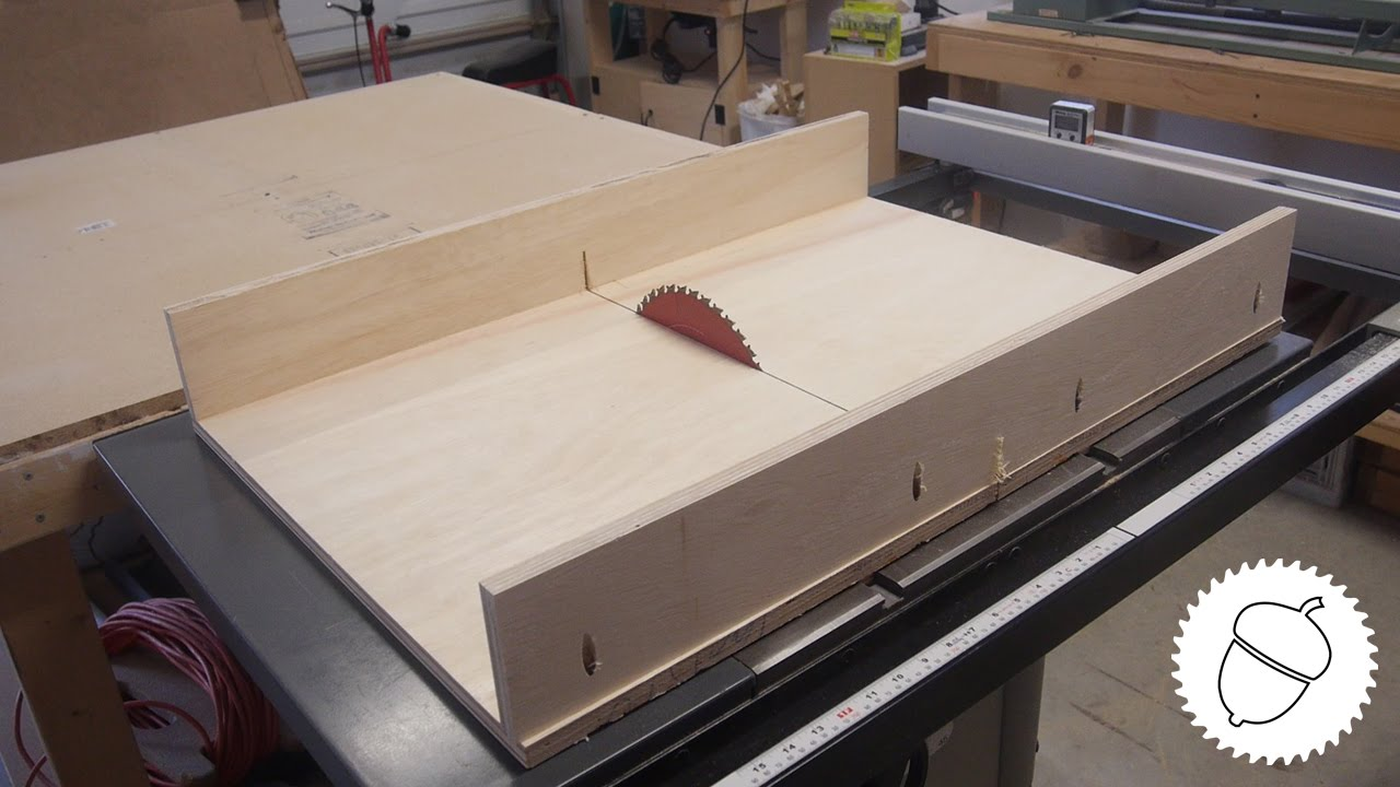 Easiest Way To Make A Table Saw Sled Youtube