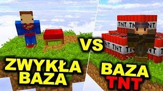 BAZA TNT NA BEDWARS! - Minecraft Bedwars - Dealereq & Mwk !