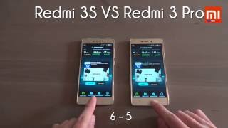 test xiaomi redmi 3s vs redmi 3 pro miui 8 battery benchmark speed