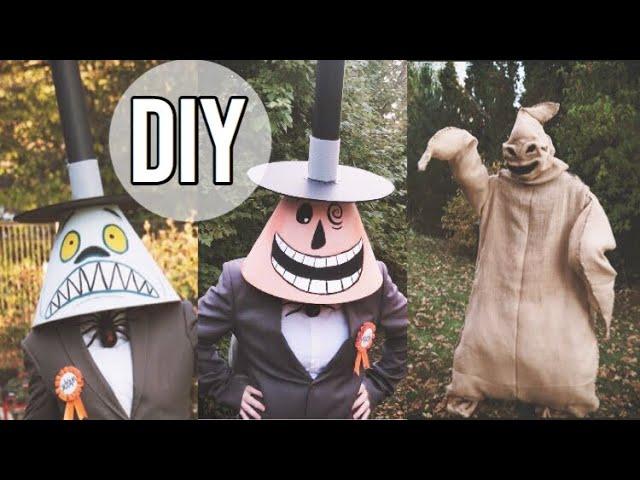 Mayor Oogie Boogie Costume Diy Nightmare Before Christmas Costumes Part 1 Youtube The nightmare before christmas synopsis: mayor oogie boogie costume diy